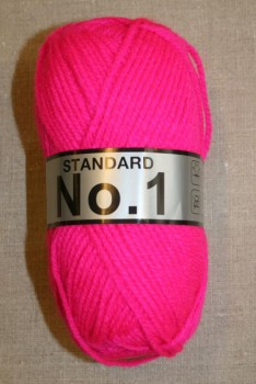 Akrylgarn No 1, neon pink