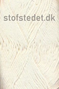 Organic Cotton/Økologisk bomuldsgarn i Off-white