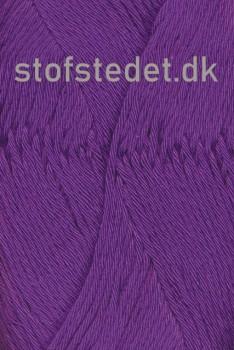 Organic Cotton/Økologisk bomuldsgarn i Rød-lilla