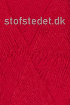 Organic Cotton/Økologisk bomuldsgarn i Rød
