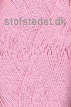 Organic Cotton/Økologisk bomuldsgarn i Lyserød
