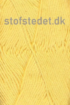 Organic Cotton/Økologisk bomuldsgarn i Lysegul