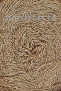 Organic 350 Wool/Cotton Gots certificeret i Lysebrun