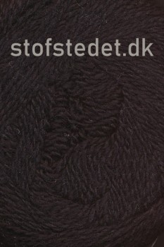 Organic 350 Wool/Cotton Gots certificeret i Sort