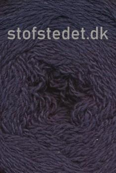 Organic 350 Wool/Cotton Gots certificeret i Mørke blå