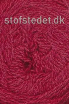 Organic 350 Wool/Cotton Gots certificeret i Mørk rød