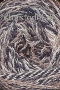Organic 350 Wool/Cotton Gots certificeret i meleret brun