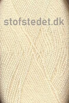 Perle Acryl | Akrylgarn fra Hjertegarn i offwhite