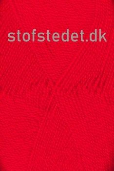 Perle Acryl | Akrylgarn fra Hjertegarn i klar rød