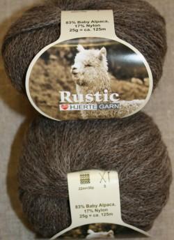 Rustic Baby Alpaca, grå-brun