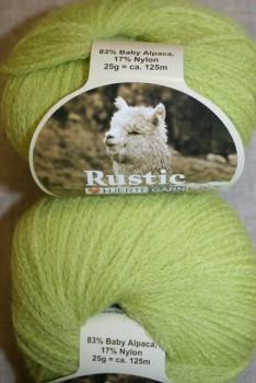 Rustic Baby Alpaca, lys lime