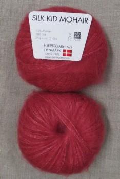 Silk Kid Mohair koral-rød