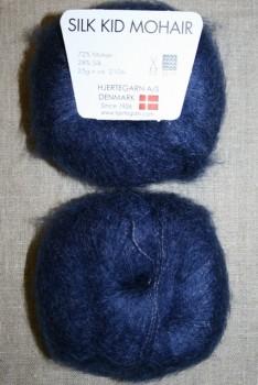 Silk Kid Mohair marine blå