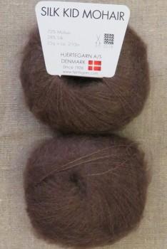 Silk Kid Mohair mørkebrun