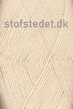 Sock 4 strømpegarn i Off-white | Hjertegarn
