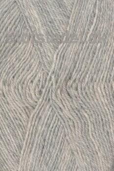 Sock 4 strømpegarn i Lysegrå | Hjertegarn