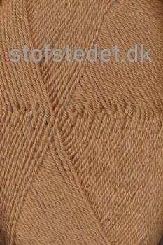 Sock 4 strømpegarn i Pudder-brun | Hjertegarn