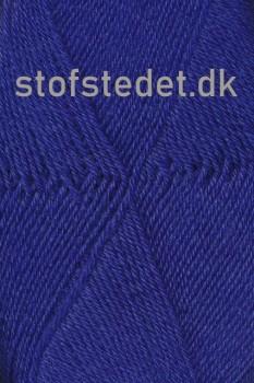 Sock 4 strømpegarn i Kobolt blå | Hjertegarn