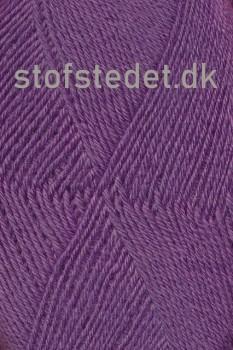 Sock 4 strømpegarn i Lyng | Hjertegarn