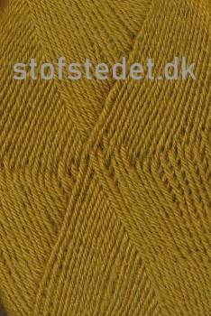 Sock 4 strømpegarn i Okker | Hjertegarn