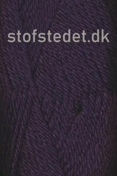 Thule - Uld/Acryl fra Hjertegarn i Mørkelilla 5735