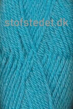 Thule - Uld/Acryl fra Hjertegarn i turkis 7310