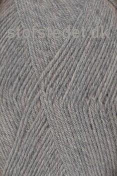 Trunte 100% Merino uld/Superwash meleret Lysegrå