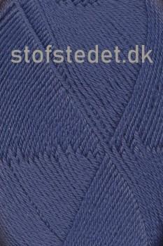 Trunte 100% Merino uld/Superwash i støvet blå