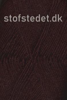 Trunte 100% Merino uld/Superwash i mørkebrun