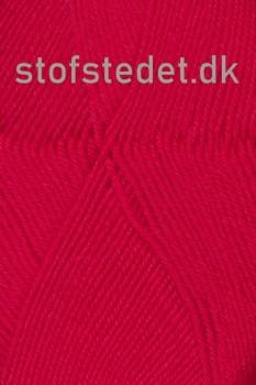 Trunte 100% Merino uld/Superwash Rød