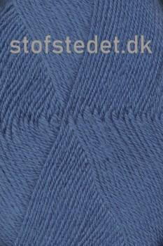 Trunte 100% Merino uld/Superwash Denim-blå/mellemblå