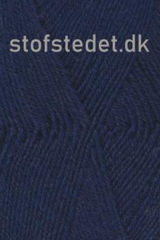 Trunte 100% Merino uld/Superwash Mørkeblå
