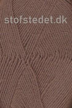 Trunte 100% Merino uld/Superwash Støvet brun