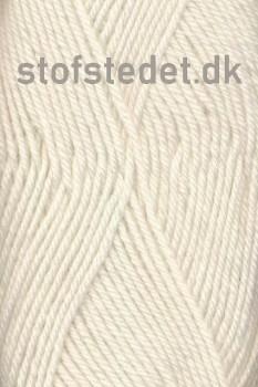 Vital 100% uld i Knækket Hvid