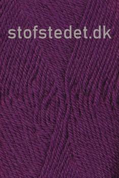 Vital 100% uld i Rød-lilla