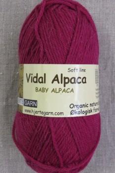 Vidal Alpaca/ Superwash Baby Alpaca i Mørk pink