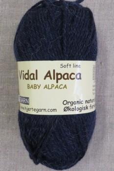 Vidal Alpaca/ Superwash Baby Alpaca i Mørkeblå