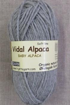 Vidal Alpaca/ Superwash Baby Alpaca i Lysegrå