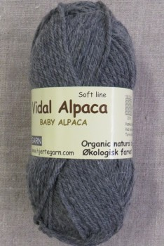 Vidal Alpaca/ Superwash Baby Alpaca i Grå