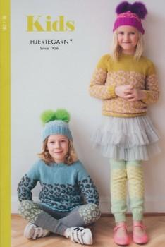 182 Hæfte med 8 strikopskrifter til børn