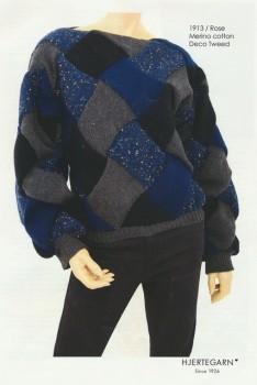 1913 Rose - Sweater i neverkont