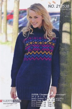 212538 Sweater m/mønster