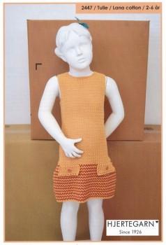 2447 Tulle - Hæklet retro kjole