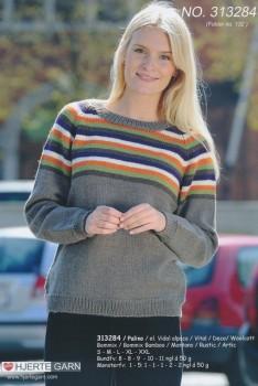313284 Sweater m/striber