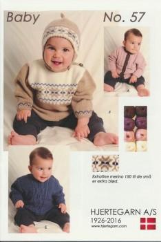 Hæfte Baby no. 57 Merino 150