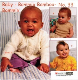 Hæfte Baby no. 33 Bommix/Bommix Bamboo