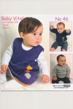 Hæfte baby no. 46 Vital/Vidal Alpaca