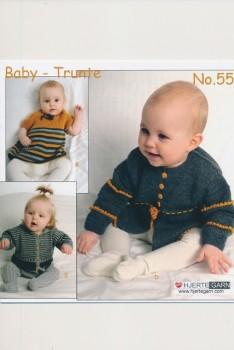 Hæfte Baby no. 55 Trunte/Blend/Blend Bamboo