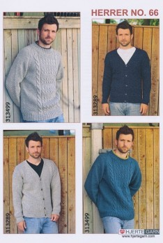 Herre no. 66 Cardigan/Sweater