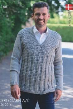 Hæfte 166 Herre sweater 3 stk